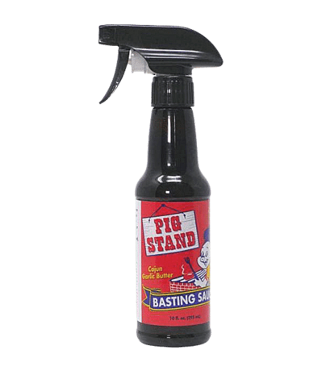 Pig Stand Cajun Garlic Butter Basting Sauce, 10 Oz. Spray Bottle