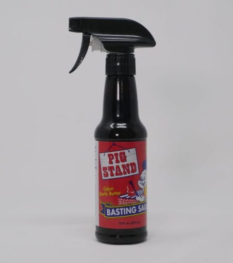 *NEW* Pig Stand Cajun Garlic Butter Basting Sauce, 10 Oz. Spray Bottle